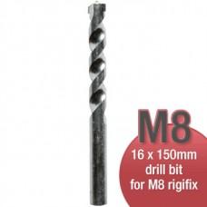Rigifix M8 Drywall Fixings – 16mm Rigidrill Drill Bit